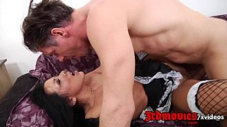 He takes the maid for dinner fuck her ass xxx porn hd