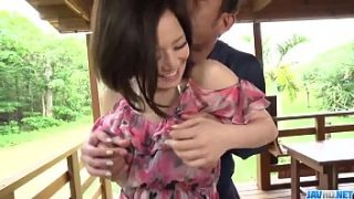 Hot japan girl Minami Asano in beautiful outdoor Full hd porn video