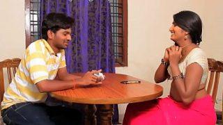 Swathi naidu sex videos Indian babe gets her boobs pressed