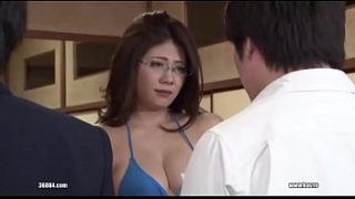 Japanese mom and son porn video with Love letter