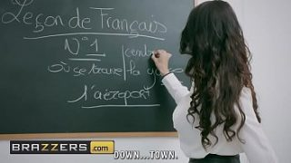 XXX student and teacher is fucked in a class room after school