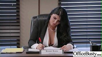 Busty Slut Office Girl xxx hd porn video