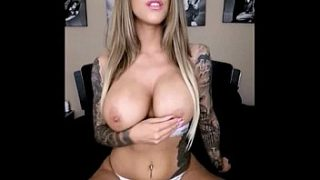Hottest girl sexy boobs pressing xxx video